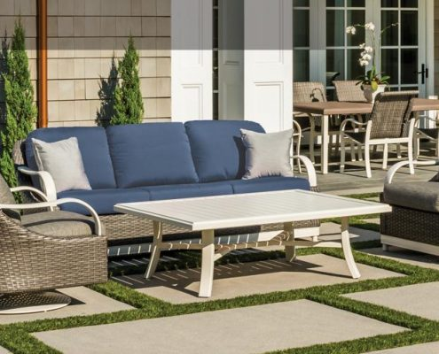 tropitone shoreline woven patio furniture nj