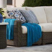 lane venture oasis closeup blue patio furniture nj