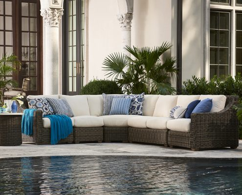 lane venture oasis sectional patio furniture nj
