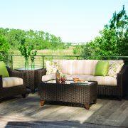 lane venture requsite seating closeup green patio furniture nj