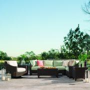 lane venture requsite seating green patio furniture nj